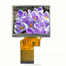 "320x240 dots landscape 3.5"" TFT LCD with touch screen"