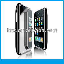 Anti-glare mirror screen protector for iPhone 3g oem/odm(Mirror)