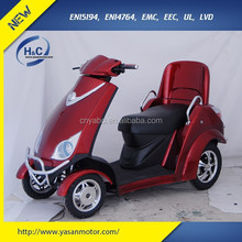 Newly handicapped and elderly electric mobility scooter