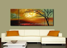Handmade Modern Art Natural Scenery Oil Painting on Canvas
