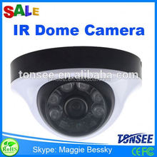 2015 Tonsee new 1000TVL IR dome camera for indoor,cctv camera with voice recorder,hidden camera light bulb