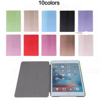Magnetic Slim Leather Smart Stand Cover Case For iPad mini 4