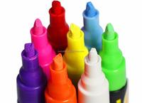 Alibaba hot selling OEM colored 18 pack liquid chalk marker eraser