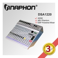 12 Channel 12V mixer Audio/ Professional Power Mixer DSA1220