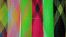 Colorful Polyester Expandable Braided Sleeving for Fishing Rod Glove