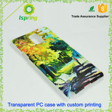 Hot selling promotion custom cover for galaxy s6 custom printed phone case