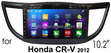 """(for Honda CRV 2012) 10.2"""" HD digital in-dash android car GPS DVD player, with TV,radio, bluetooth, iPOD"""