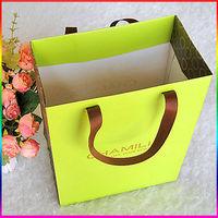 2015 new desgin custom packaging gift paper bag& custom paper gift bag with printing