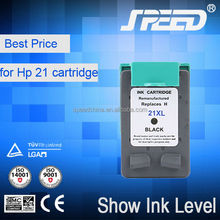Hot Selling 21 Cartridge Ink for HP with CE Certificate