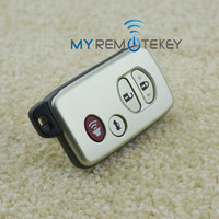 Smart key shell 3 button with panic HYQ14AAB for Toyota Corolla smart key