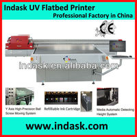Indask Digital F2518 flatbed uv Printer for Plastic Sheets (ABS, PC, PE, PP, PU, PVC)