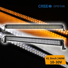 Hottest! 240W offroad led bar light for truck trailer jeep wrangler atv suv boat