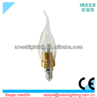 2013 new products 3W E14 LED Candle Light with CE&RoHS