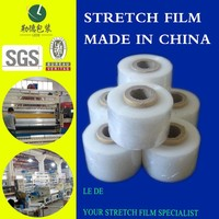 Soft Hardness Stretch Film transparency plastic film with multiple action
