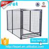 large modular outdoor dog run fence panels