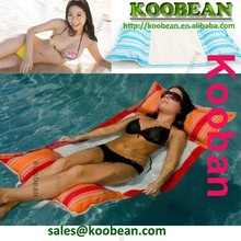 Modern Extra Large comfort cozy Lazy boy polyester fabric waterproof outdoor beach pool bean bag for floating