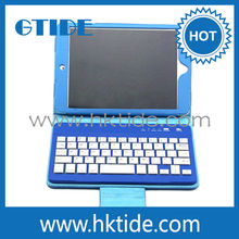 Slim Leather Case Removable Wireless Bluetooth Keyboard For Apple ipad Mini