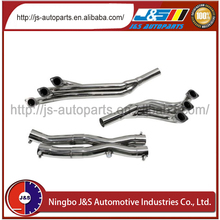 Made of high quality T-304 stainless steel with CNC exhaust steel header