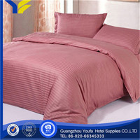 single bed hot sale polyester/cotton microfiber peach skin fabric for bed sheet