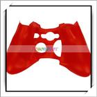 Mais barato! Controlador Red Silicone da pele ( para Xbox360 )