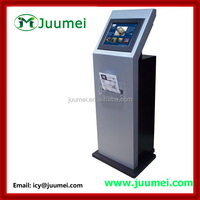 19 inch Touchscreen Self Service A4 Printer Kiosk with with A4 laser printer