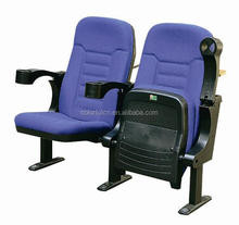 Elegant cheap price theatre seat Y327 solid wood cinema chair