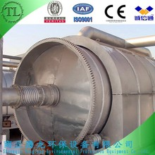 8tons waste tyre/plastic continuous refinery/pyrolysis plant/equipment