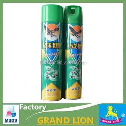 Powerful chemical furmula aerosol insecticide spray