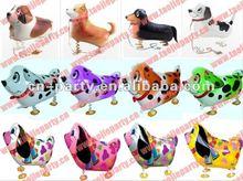 2012 Hot sell helium walking balloons dog designs