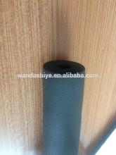 baja conductividad térmica de goma espuma de aislamiento del tubo con el certificado del ce para la fábrica de china