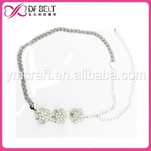 2015 Best-Selling Germany colourful gold belly waist chain for lady
