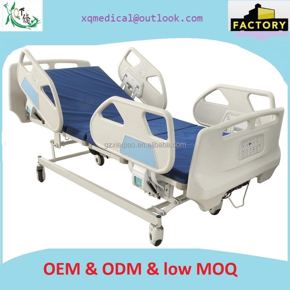 병원 환자 침대 다섯 기능 전기 의학