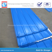 colored coated aluminum roofing sheet
