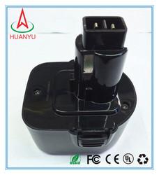 1.3AH~3.0AH hot selling wholesale 12v drill battery for DC9071,DE9037, DE9071,DW9072, DE9075,DE9501