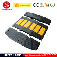 DINGWANG Prototype Reflective Rubber Products for speed control