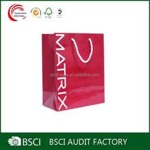 Popular cheap retail paper shopping bag suppliers in shanghai