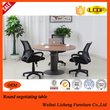 Office meeting table/small round office meeting table/office counter table office furniture design