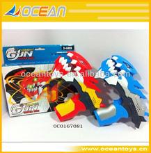 arma de brinquedos para o miúdo dinossauro elétrico flash arma de brinquedo com som oc0167081