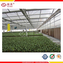 100% raw lexan construction material pc polycarbonate green house