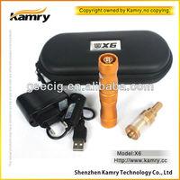 Stylish x6 cigarro electronico variable voltage e cig