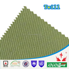 china hot sale canvas 260gsm 100 cotton flame retardant fabric