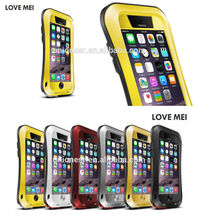 Mobile Phone Accessory Love Mei Powerful Waterproof Case For Iphone 6,For Iphone 6 Case,For Iphone6 Case