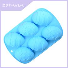 Tema b1-050 perfecto para hornear la torta del molde de silicona huevo de Pascua