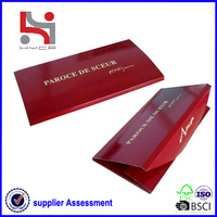 Dongguan factory Haiying new design custom paper double gummed envelope