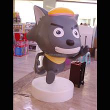 Famous wolf sculpture indoor sculptures for sale