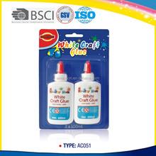 Non-toxic school supply stationery glitter glue white craft glue