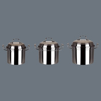6pcs stainless steel cookware sets household items