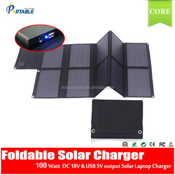 100W 120W 80W folding solar panel solar battery charger for car/boat/caravan/golf cart