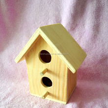 wooden bird nest bird house bird cages for wholesale