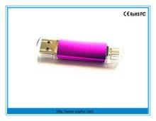 High quality OTG usb flash memory,mobile phone usb flash drive
